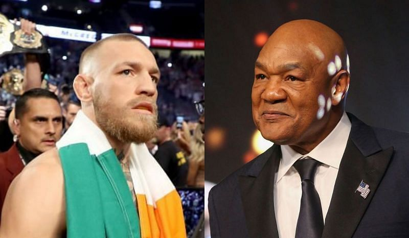 Conor McGregor and George Foreman