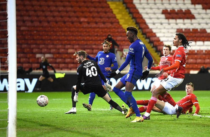 Chelsea saw off Barnsley in the FA Cup fifth round