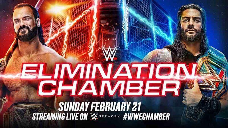 क्या WWE चैंपियन ड्रू मैकइंटायर और यूनिवर्सल चैंपियन रोमन Elimination Chamber पीपीवी में अपना टाइटल डिफेंड कर पाएंगे?