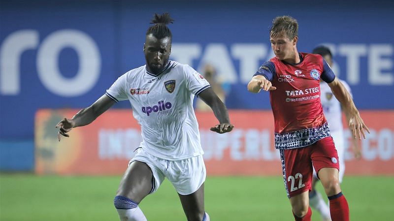 Esmael Goncalves (L) has scored the most number of goals for Chennaiyin FC. (Image: ISL)