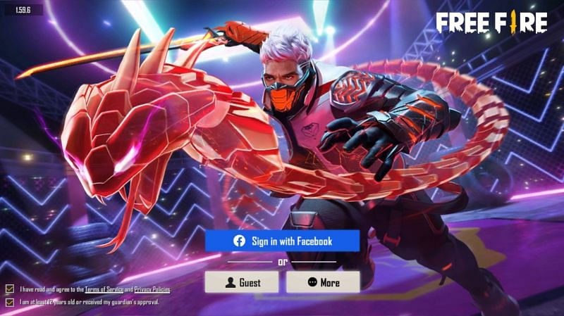 Players can log in to their existing Free Fire accounts and enjoy playing the game