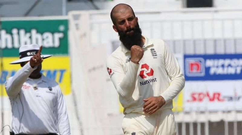 Moeen Ali picked up wickets in both innings
