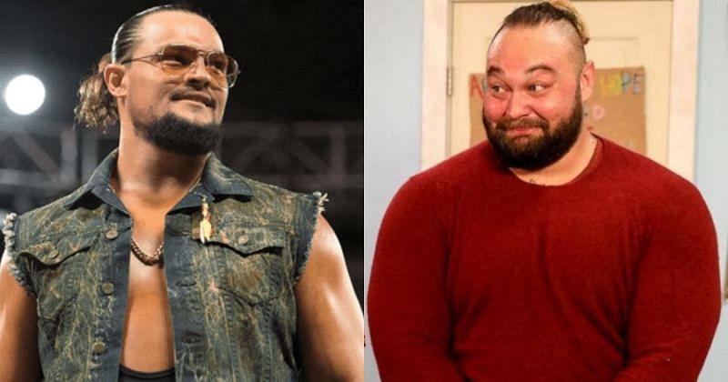 Bo Dallas and Bray Wyatt.