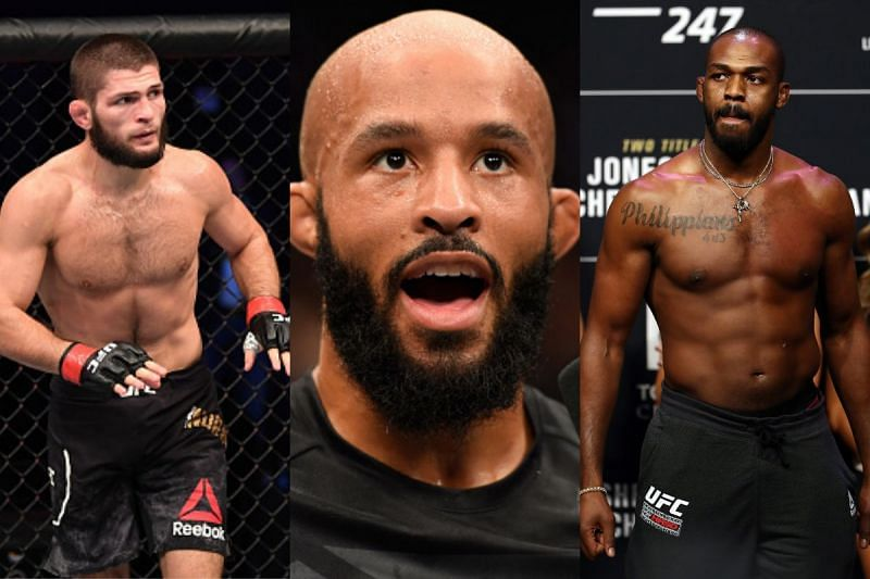 Demetrious Johnson ranked himself in the MMA GOAT coversation