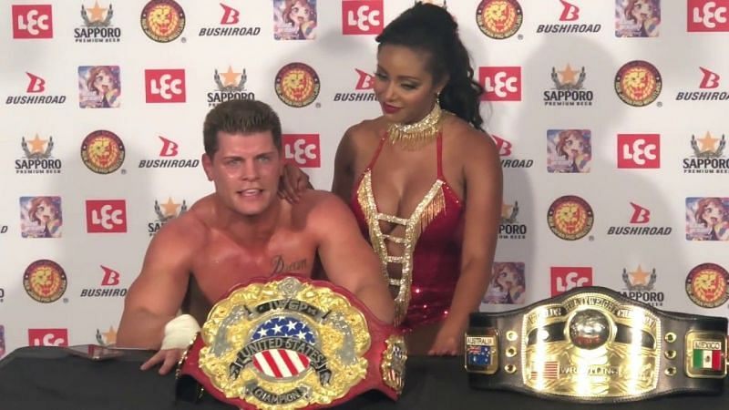 Cody Rhodes knows all about the potential dream matches to come with the New Japan Pro Wrestling partnership.