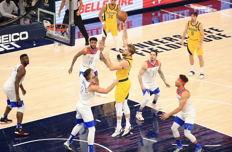 Indiana Pacers star Domantas Sabonis
