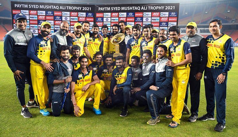 Syed Mushtaq Ali Trophy 2021 [Image Credits: BCCI/Twitter]