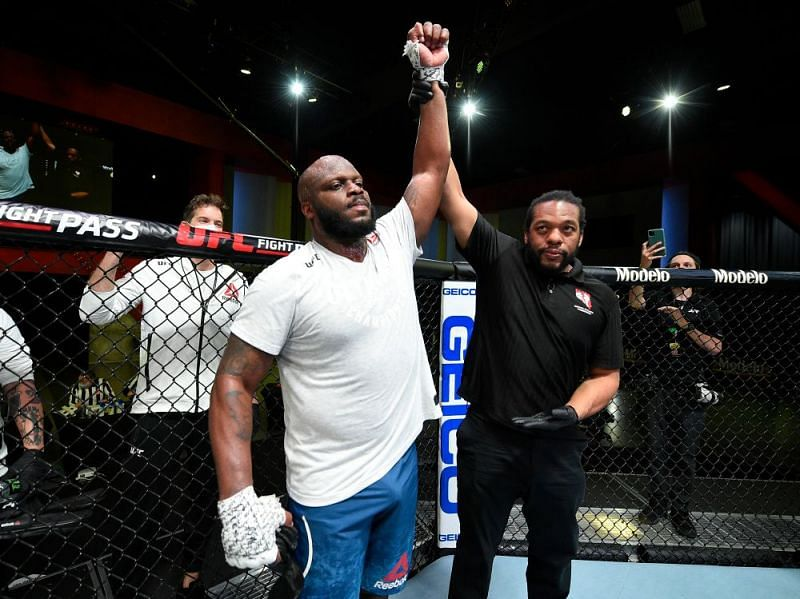 Derrick Lewis picked up the 12th KO of his UFC career in last night