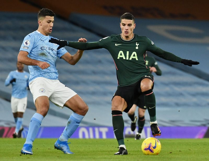 A yellow card was all that Lamela had to show for his underwhelming outing against Manchester City.