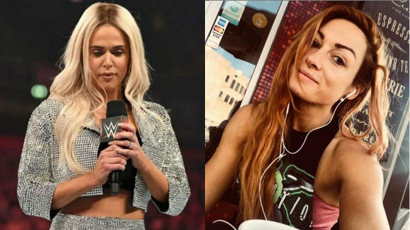 Lana had a lot to share about her friendship with the former champion