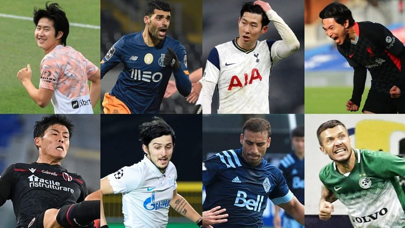 Who are the most valuable Asian football players?