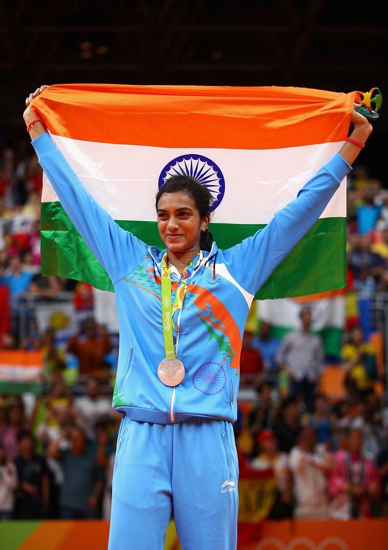 PV Sindhu- Silver Medallist- 2016 Rio Olympics