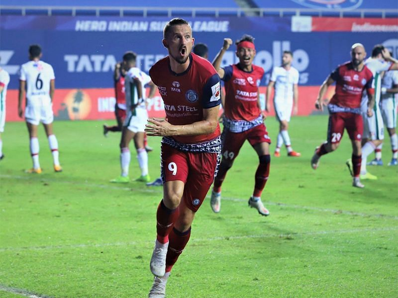 Nerijus Valskis scored twice in the last game between the two sides. (Image: ISL)