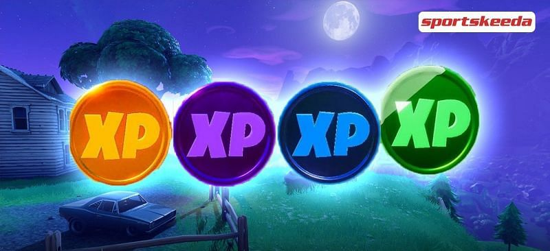 Fortnite Season 11 Xp System Fortnite Season 5 Week 10 Xp Coins All Gold Purple Green And Blue Xp Coin Locations