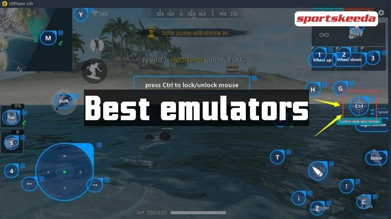 People can play Garena Free Fire on their PCs with the help of emulators (Image via Sportskeeda)