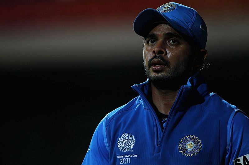 Sreesanth was a part of the Indian squad that won the World Cup in 2011