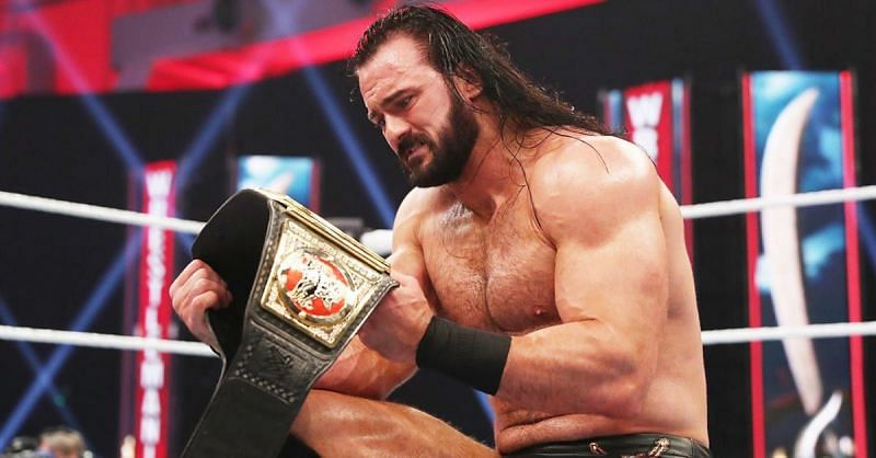 Drew McIntyre is the reigning WWE Champion