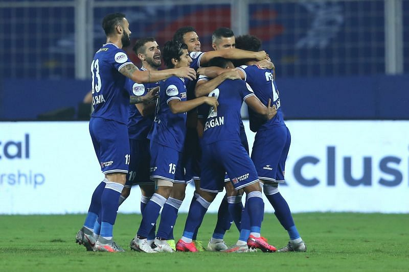 Chennaiyin FC dropped points once again after taking the lead against the Yellow Army. Courtesy: ISL