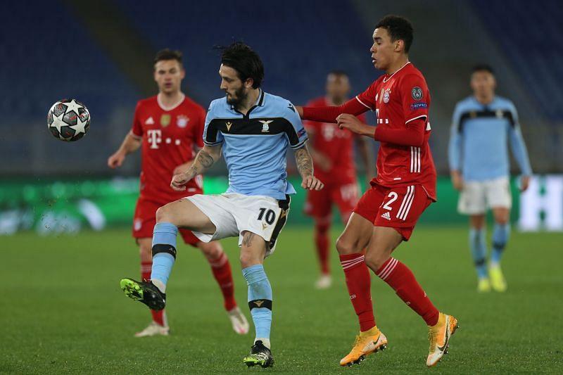 Bayern Munich defeated Lazio 4-1 on Tuesday night