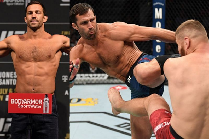 Luke Rockhold may have hinted at a potential return to the UFC