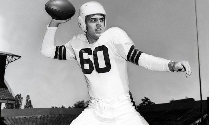 Otto Graham of Cleveland Browns