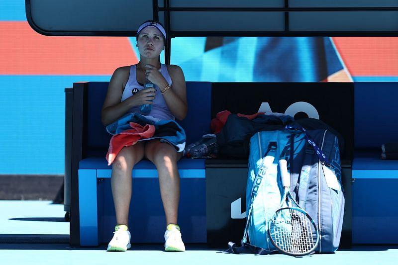 Sofia Kenin at the 2021 Australian Open