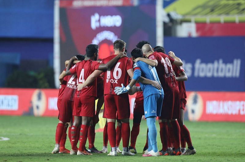 NorthEast United FC have the chance to go 3rd in the table with a win (Image: ISL)