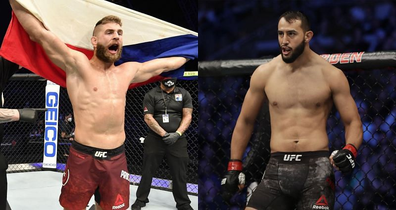Dominick Reyes (Right) is expected to fight Jiri Prochazka (Left) on May 1, 2021