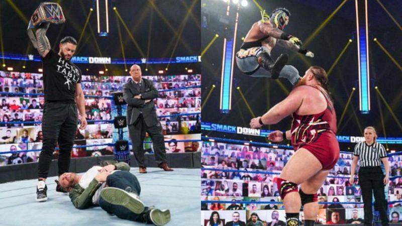 इस हफ्ते WWE SmackDown का शानदार एपिसोड देखने को मिला