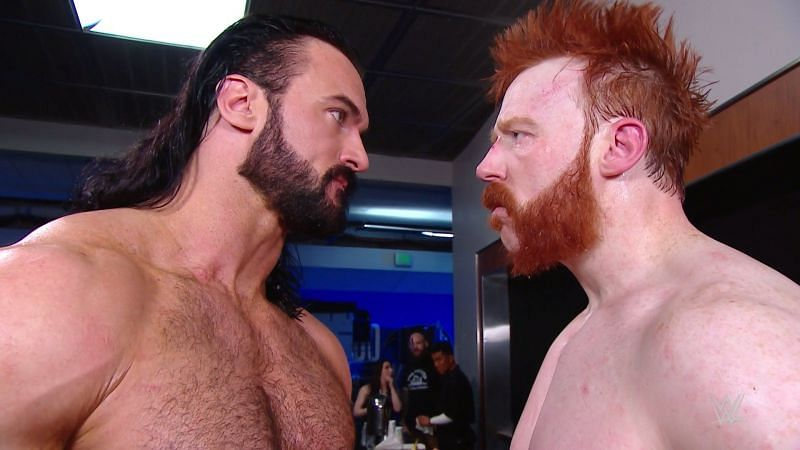Sheamus and Drew McIntyre still have some issues to iron out