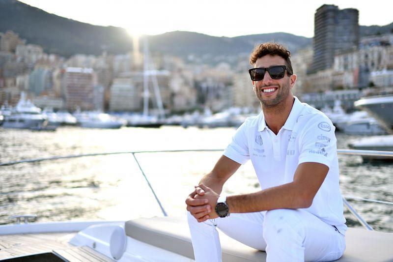 Daniel Ricciardo relaxing in Monaco. (Photo by Dan Mullan/Getty Images)