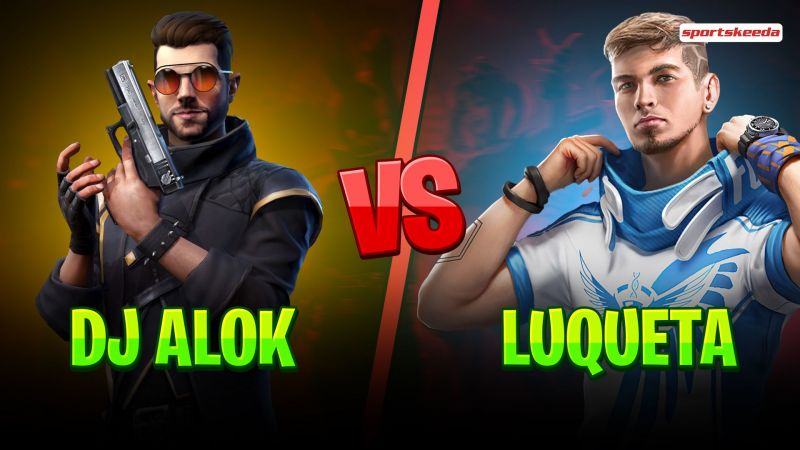 DJ Alok and Luqueta are popular Free Fire characters