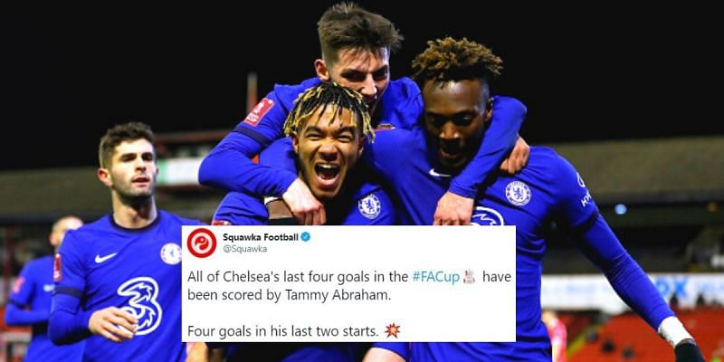 Tammy Abraham rescued Chelsea in the FA Cup again