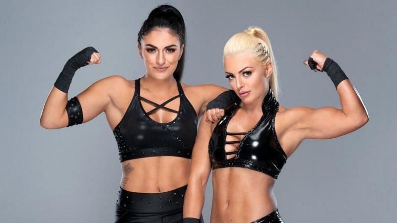 Mandy Rose and Sonya Deville in WWE