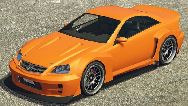 The Benefactor Feltzer is a great-looking sports car and is usually one of the cars requested by Simeon in GTA Online (Image via GTA Wiki Fandom)