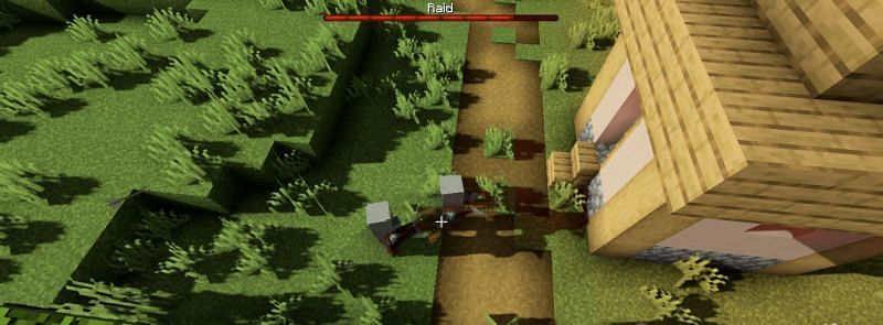 Bad omens adversely affect villages and their inhabitants (Image via Minecraft)