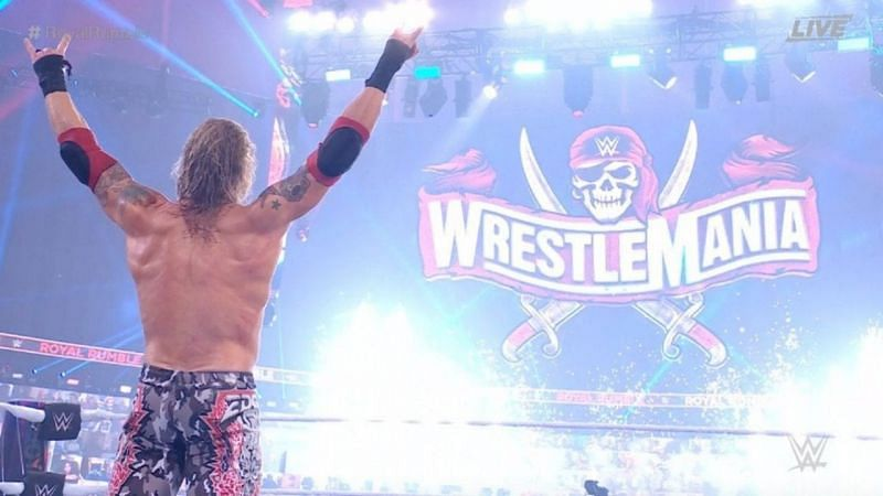 Edge is heading to WrestleMania