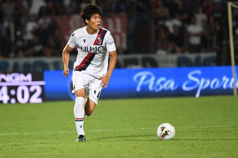 Takehiro Tomiyasu has been one of the few bright spots for a struggling Bologna.