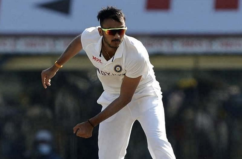Axar Patel grabbed a five-wicket haul in England