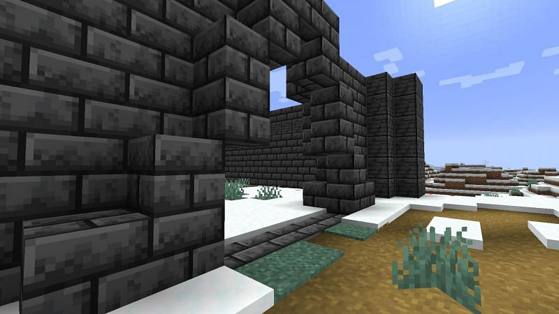 A Grimstone Castle (Image via Minecraft)
