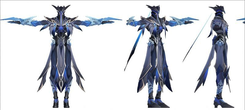 Leaked renders of Abyss Herald in Genshin Impact (Image via Lumie_Lumie Twitter)