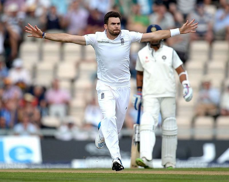 James Anderson could be a menace with the new ball