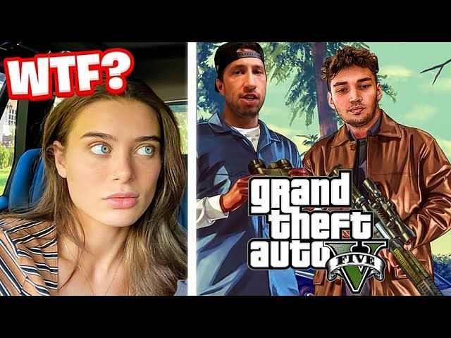 Mike Majlak found himself in hot water with his girlfriend Lana Rhoades over his actions in GTA 5 RP (image via Adin Live YouTube)