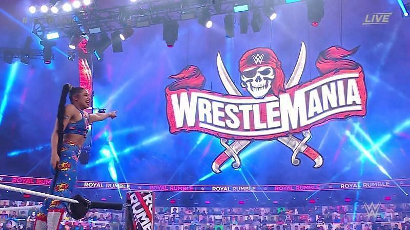 Who will WWE have Bianca Belair face at WrestleMania 37?