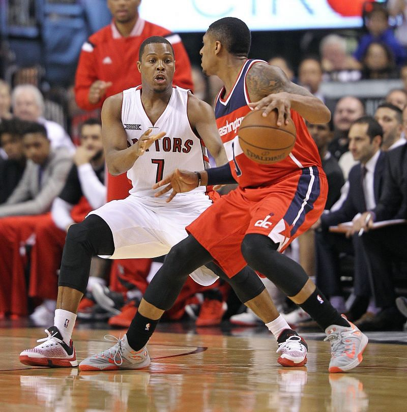 Both Kyle Lowry and Bradley Beal have been part of the NBA tradew rumors of late.