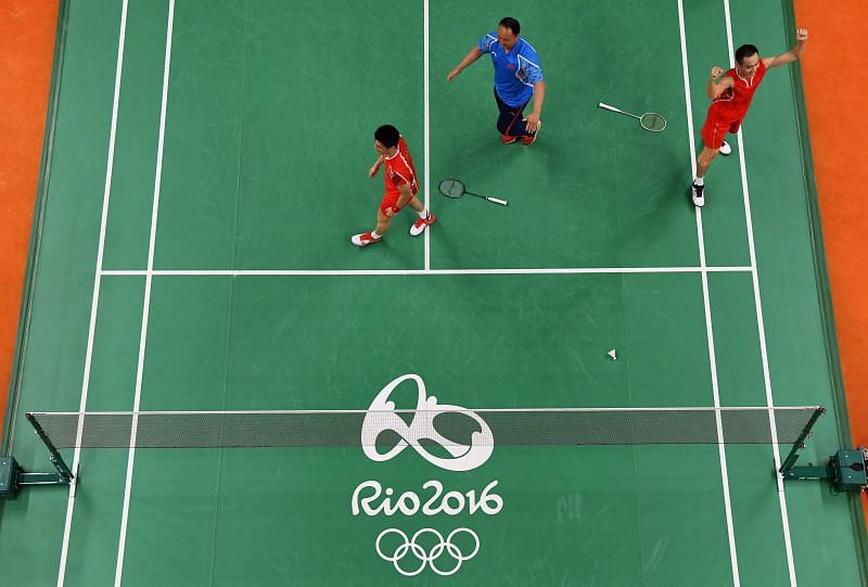 Players at the Rio 2016 Olympic Games