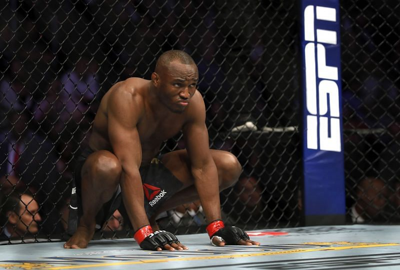 Kamaru Usman is likely to stay in the UFC Welterweight division, giving him a good chance of surpassing Georges St. Pierre.
