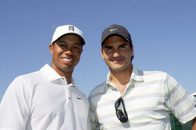 Tiger Woods and Roger Federer are two of the greatest sportspersons of all time