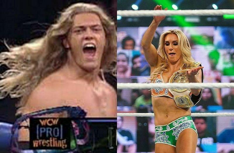 Edge and Charlotte Flair