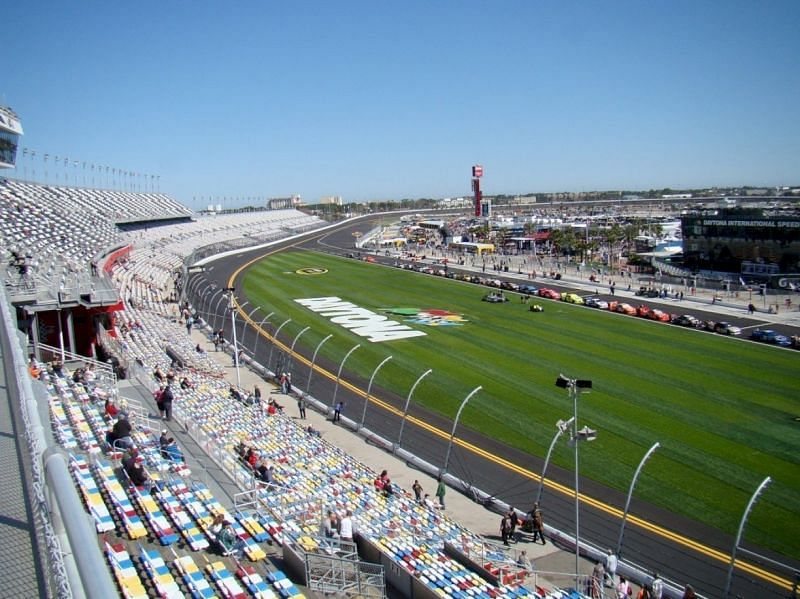 The 2021 Daytona 500 will see attendance limited to just 21 percent of full capacity. Photo: Getty Images